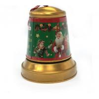 Christmas Jingle Bell Tins for Candy Manufactures