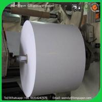 66*96 70*100cm couche paper C2S Glossy Coated Art Paper Art Card Paper board with sheets ream or roll package Manufactures
