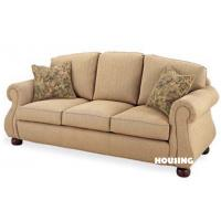 Super comfortable bonded leather pu sofa for three for Super comfortable sectional sofa