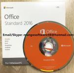 Original Computer Software System Office 2016 Standard For 1 PC Lifetime Warranty Manufactures