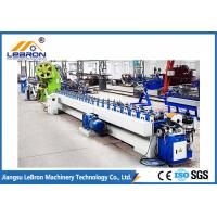 High Accuracy Automatic Roll Forming Machine Hydraulic Punch Hole PLC Control Manufactures