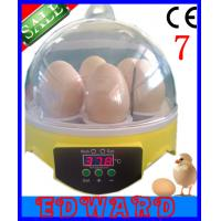China 2014 hot sale in the world full automatic egg incubator 7 eggs incubator with music on sale