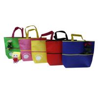 Quality Eco Freindly Recycled Shopping Bags Nonwoven Laminated Fabric Customized for sale