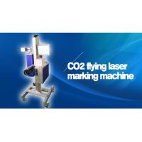 30W 60W CO2 Flying Laser Marking Machine / Co2 Laser Engraving Machine