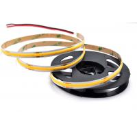 China 24VDC COB Flexible LED Strip Lights 10W/M Power Consumption Supporting Dimmer on sale