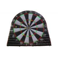 China 0.9mm PVC Inflatable Sports Games / Football Dartboard Customized Size Accepted on sale
