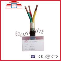 600 / 1000v 4 Cores Low Voltage PVC Insulated PVC Sheathed Cable Electrical Wires Manufactures