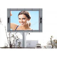 1 / 2 Scan High Luminance P10 Led Screen Outdoor Advertising With Pole