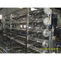 Electric Driven Reverse Osmosis Water System / Water Purifier Machine For Pure Water Manufactures
