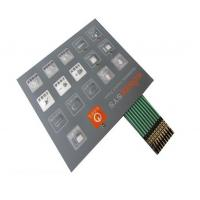 Heat Resistant / Waterproof Membrane Switch And Panel With 3M Adhesive Manufactures
