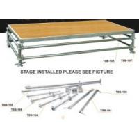 Energy Saving Portable Stage Platform Smooth Running For Wedding Stage Manufactures