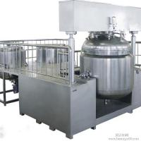 30L Cosmetic Vacuum Emulsifying Mixer With Vacuum Pump , Emulsifying Blender Manufactures