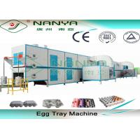 Cup Carrier / Egg Tray Pulp Molding Equipment 3000Pcs To 6000Pcs Per Hour Manufactures