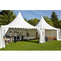 China 5x5 M White Pagoda Tent , Outdoor Party Marquee Event Tent Easy Installation on sale