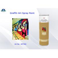 Aerosol Acrylic Art Graffiti Spray Paint Cans for Artist with Normal , Fluo , Metallic Color Manufactures