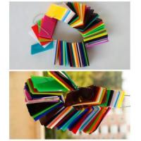 China Color Acrylic Sheet for Display Purpose on sale