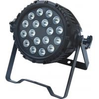Quality High Lumen Outdoor LED Par18x10w Rgbw 4in1 Ip65 Waterproof Par Lighting Stage Lights for sale