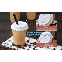 ripple wall / double wall / single wall disposable coffee paper cup with lids, 8OZ, 12oz 14 OZ cup,paper cup disposable Manufactures