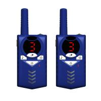 Buy cheap Factory hot sale plastic colorful cute handheld uhf 3-5km walkie talkie battery from wholesalers