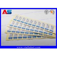Buy cheap Custom Glass Bottle Labels Glossy Lamination For Medication Package from wholesalers