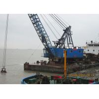 High Performance Offshore Marine Cranes With Clamshell Grab Bucket 70 T Lifting Capacity Manufactures