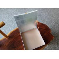 China Hot Silver White Square Gift Boxes With Lids , Printed Jewellery Boxes Product Packaging on sale