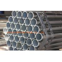Round Hot Dip Galvanized Steel Water Pipe , Electronic Fusion Welded EFW Pipe