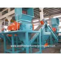 Plastic Washing Line For Waste plastic films bags , Plastic Recycling Equipment Manufactures