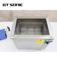 Manual Control Ultrasonic Glasses Cleaner , Gt Sonic Ultrasonic Cleaner 28kHZ Manufactures