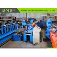 PLC Frequency Control Metal Stud And Track Roll Forming Machine With GCr15 Manufactures
