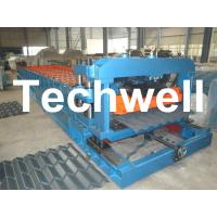 China Metal Roof Tile Roll Forming Machine With Pressing Mould TW-GTM on sale
