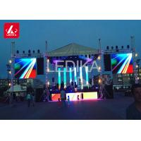 Mobile Stage Roof Pyramid Truss With Sound Wings Flying System Manufactures