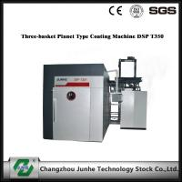 Three Basket Planet Zinc Flake Coating Machine DSP T350 Operation Control System Manufactures