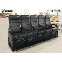 Buy cheap Touching Heartbeat Entertainment 4D Cinema Theater With Electronic Seats from wholesalers
