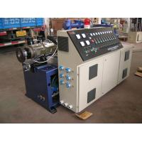 150kg/H - 800kg/H Output Capacity PVC Extrusion Machine of Conical Double Extruder Manufactures
