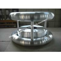 China 6061 Grade Aluminum High Voltage Corona Rings For Gas Insulated Switchgear on sale