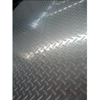 China 304 Cold Rolled And Hot rolled Tear Drop Stainless Steel Chequered Plate For Skid Resistance on sale