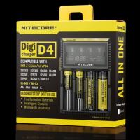 Nitecore D4 LCD intelligent battery charger for IMR/Li-ion/Ni-MH/Hi-Cd and LiFePO4 rechargeable batteries Manufactures