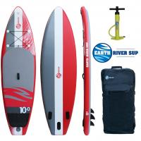 Size 12'6X27X5 Water Racing Paddle Boards 15PSI Pressure For Beginner