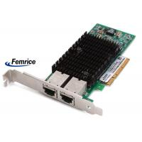 Femrice 100/1000/10000Mbps Dual Port Gigabit Ethernet PCIe x8 Server Adapter Intel X540 RJ45 Slots Network Controller Manufactures