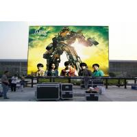 1R1G1B DIP346 Outdoor P10 LED Video Screen Full Color LED Panel , Public Square Manufactures