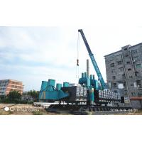 ZYC360 Hydraulic Static Pile Driver , Pile Driving Equipment In Blue Color Manufactures