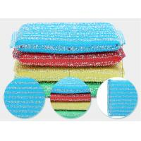 Sheet Shape Heavy Duty Scouring Pads , Anti Mildew Non Scratch Scourer Pads Manufactures