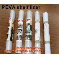 China PEVA SHELF LINER, DRAWER MAT, shower curtain with resin hook set, pattern printed polyester shower curtain bagease pack on sale