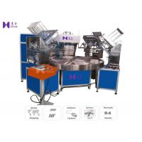 Auto Turntable Blister High Frequency Welding Machine 6 Work Stations For Packing Knife Manufactures