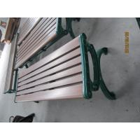 Quality ISO9001 Outdoor Plastic Bench Seats Waterproof Wpc Composite for sale