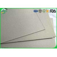 Quality Eco Friendly Grey Board Paper 500 - 2500gram For Lever Arch Files / Toolbox for sale
