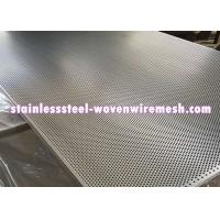 Stainless Steel Perforated Metal Sheet Round Hole High Temperature Oxidation Resistance Manufactures
