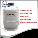 15L Liquid nitrogen storage container manufacturer 5 years of vacuum Manufactures