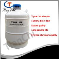 China 15L Liquid nitrogen storage container manufacturer 5 years of vacuum on sale